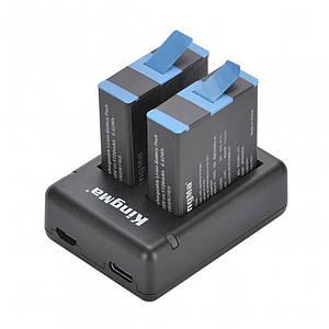 Зарядное и 2 аккумулятора GoPro 9 KingMa BM059-GP9