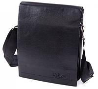 Мужская кожаная сумка планшет Dr. Bond