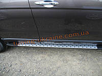 Пороги боковые оригинал в BMW Style №2 для Honda CR-V 2012