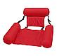 Надувний матрац стілець складаний плаваючий Червоний   Пляжний водний гамак крісло, фото 2