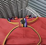 Рюкзак Kanken Fjallraven Classic 16л Красный канкен классик с радужными ручками школьный, портфель Red, фото 9