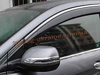 Ветровики с хром кантиком на Honda CR-V 2012+
