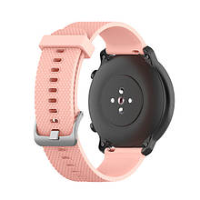 Ремешок BeWatch GT 20мм силиконовый для часов универсальный Светло-розовый (1011422)