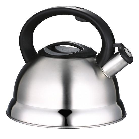 Чайник Kamille KM-0676 2.7 л з нержавіючої сталі зі свистком