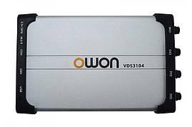 Осцилограф - приставка OWON VDS3104 (100 МГц, 4 канали, 1,0 ГВ/с)