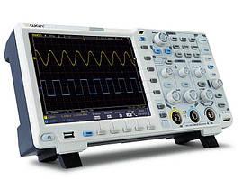 Осцилограф OWON xDS3202E (200 МГц, 2 каналу, 1 ГВ/с, пам'ять 40 Мб) дисплей сенсорний.