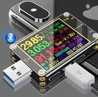 USB тестер Т18 + навантажувальний резистор 1А/2А і термодатчик