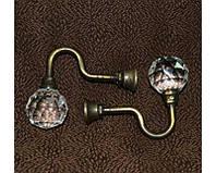 Крючки декоративные для штор маленькие