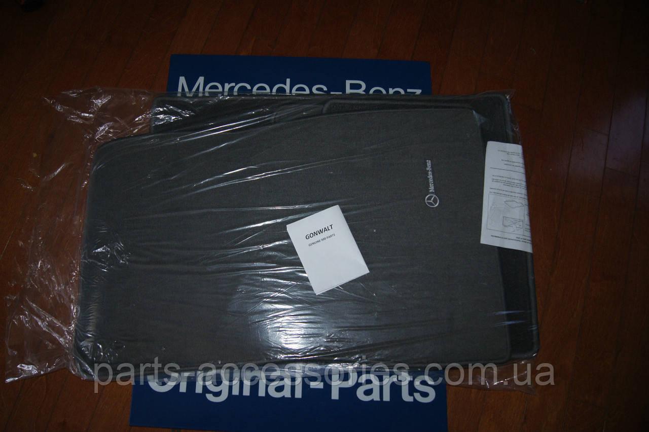 Mercedes S Class W220 1998-06 велюрові килимки сірі передні задні нові оригінальні