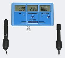 Стаціонарний комбінований монітор РН-026 pH, EC, CF, TDS, Temp - monitor