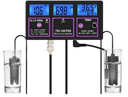 Стаціонарний комбінований монітор РН-217 pH, EC, TDS, Temp, RH - метр для акваріума