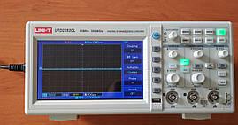 Двоканальний цифровий осцилограф UNIT UTD2052CL (UTDM12052CL)