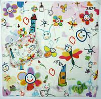 """Постельный набор """"Абстракция"""": одеяло и подушка, 80х80 см"""