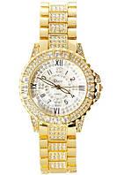 Часы женские кварцевые Dior, наручные часы, часы кристиан диор, женские часы диор, часы золотые