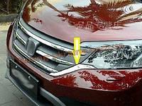 Хром капота (под решетку радиатора) для Honda CR-V
