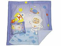 """Постельный набор """"Космонавт"""": одеяло и подушка, 80х80 см"""
