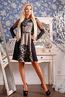 Очень красивое женственное теплое платье