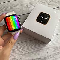 Смарт часы Умные часы Smart Watch W26 Телефон Тонометр ЭКГ Термометр Счетчик калорий белые