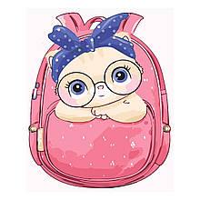 Детская Картина по Номерам Котик в сумке 30х40 см Strateg