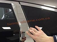 Хромированные накладки на стойки дверей Honda CRV 2012+