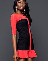 Платье с открытыми плечами | Маркиза jd