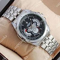 Необычные наручные часы Rolex Quartz 003 Silver/Black 20005