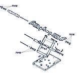 К-т оси механизма сиденья МТЗ (с втулкой 20 мм.) , фото 3