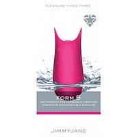 Стимулятор клітора Form 5 Pink Jimmy Jane, фото 1
