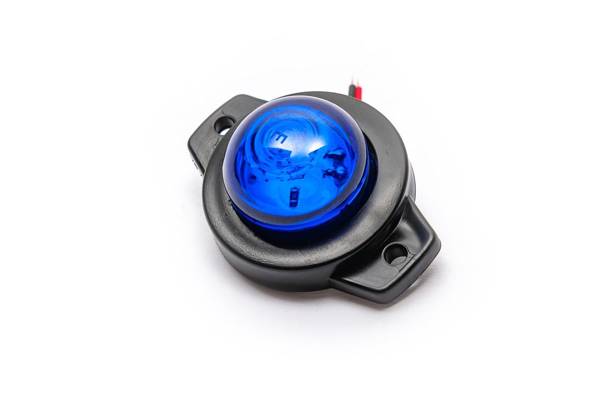 Габаритний ліхтар 12-24 вольт синій 0164