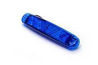 Габаритный фонарь 10-ти диодный 12-24 вольт синий 0300