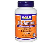 L-аргинин, L-лизин и L-орнитин Tri-Amino (120 caps)