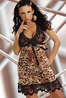 Пеньюар с леопардовым принтом Athena LC