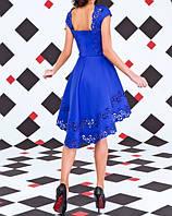 Платье женское с перфорацией в расцветках 7776, фото 1