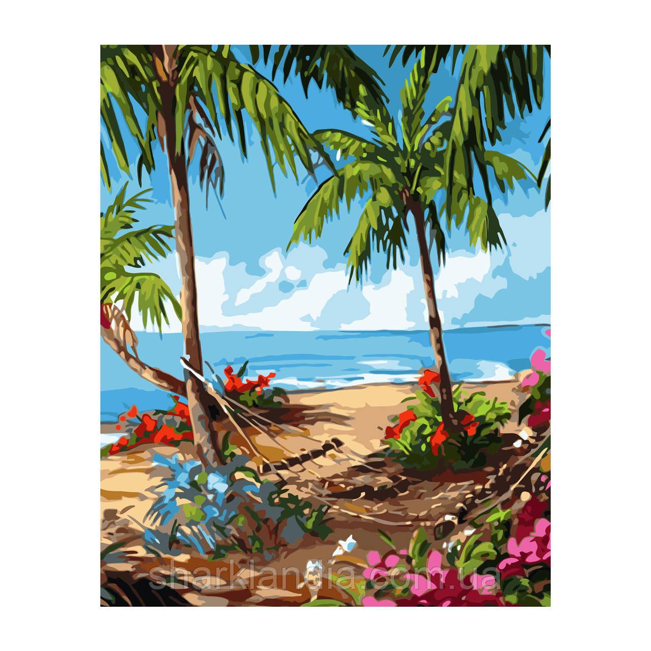 Картина по Номерам Гавайские будни 40х50см Strateg Раскраска по цифрам