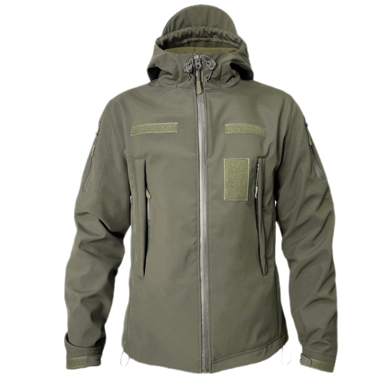 Куртка тактическая SoftShell хаки