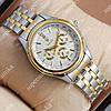 Повседневные наручные часы Rolex Quartz 009 Silver-gold/White 20011