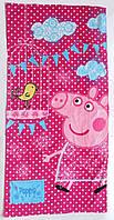 Полотенце Peppa pig для девочки, 70х145 см