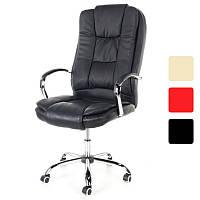 Компьютерное офисное кресло Calviano MAX MIDO на колесиках для руководителя, фото 1