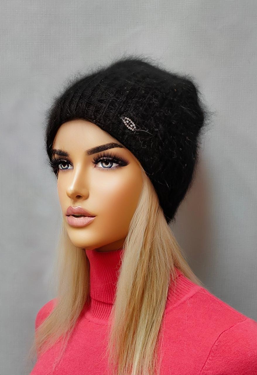Шапка с люрексом Мисс FAN CAP 13287000 черный
