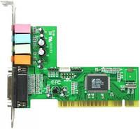 Звуковая карта C-Media, PCI, 32bit, 4-Channels