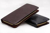 Модный мужской клатч-портмоне Montblanc (Монтбланк), мужской клатч на молнии, мужской бумажник, кошелек