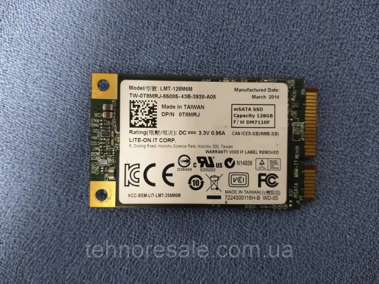 SSD Hoodisk 64Gb mSATA
