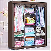 Мобільний тканинної шафа для одягу HCX Storage Wardrobe 88130