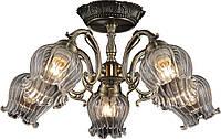 Люстра потолочная Altalusse INL-6127C-05 Antique & Brass