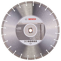 Диск алмазный Bosch Standard for Concrete 350-20/25,4 (2608602544), фото 1