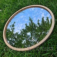 Комплект заготовок для изготовления зеркала в технике макраме 25см