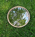 Комплект заготовок для виготовлення дзеркала в техніці макраме 35см, фото 2