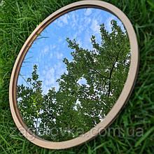 Комплект заготовок для виготовлення дзеркала в техніці макраме 31см