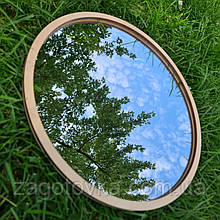 Комплект заготовок для виготовлення дзеркала в техніці макраме 18см