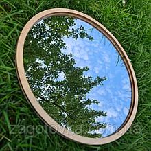 Комплект заготовок для виготовлення дзеркала в техніці макраме 35см